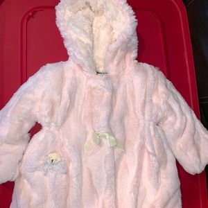 Other - American widgeon faux fur girls jacket